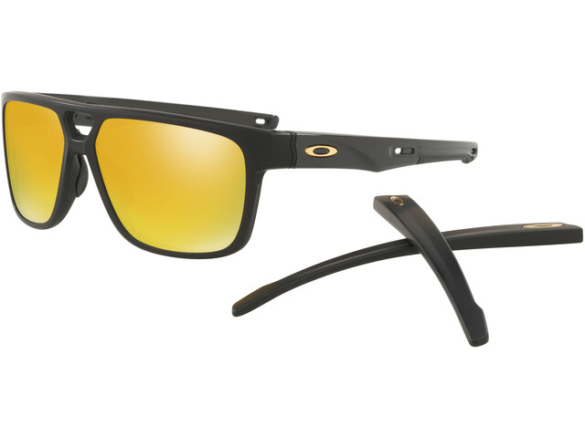 Oakley Crossrange Patch Brillenglas geel/zwart